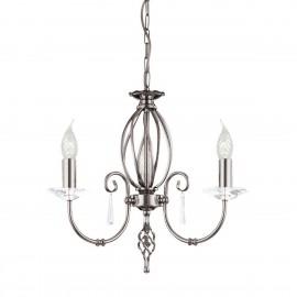 Aegean Polished Nickel - Elstead Lighting - lampa wisząca klasyczna