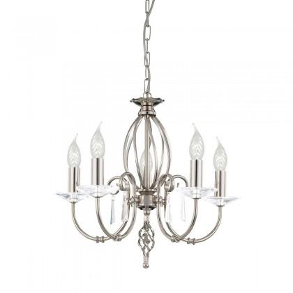 Aegean Polished Nickel - Elstead Lighting - lampa wisząca klasyczna - AG5 POL NICKEL - tanio - promocja - sklep