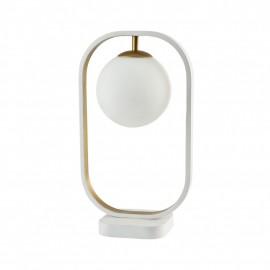 Avola White-Gold Biurkowa - Maytoni - lampa biurkowa nowoczesna