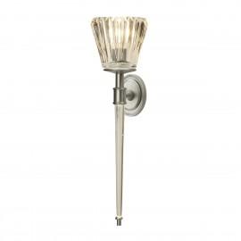 Agatha Led Brushed Nickel - Elstead Lighting - kinkiet łazienkowy