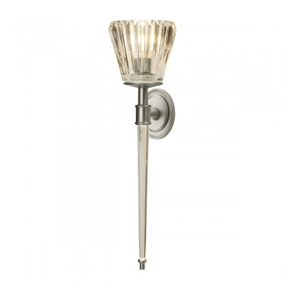 Agatha Led Brushed Nickel - Elstead Lighting - kinkiet łazienkowy - BATH/AGATHA BN - tanio - promocja - sklep