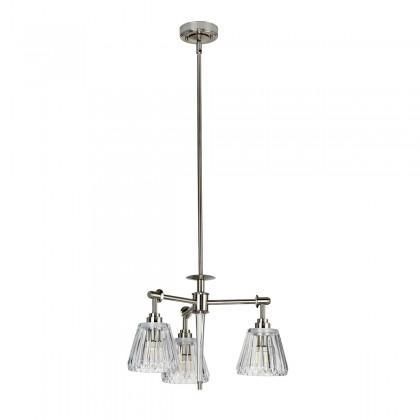 Agatha Led Brushed Nickel - Elstead Lighting - plafon łazienkowy - BATH/AGATHA3P BN - tanio - promocja - sklep