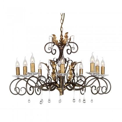 Amarilli Bronze And Gold - Elstead Lighting - lampa wisząca klasyczna - AML10 BRONZE - tanio - promocja - sklep