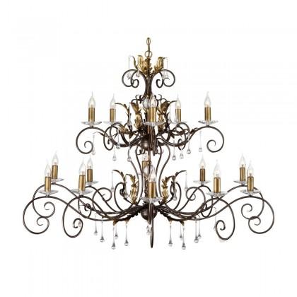 Amarilli Bronze And Gold - Elstead Lighting - lampa wisząca klasyczna - AML15 BR/GLD - tanio - promocja - sklep