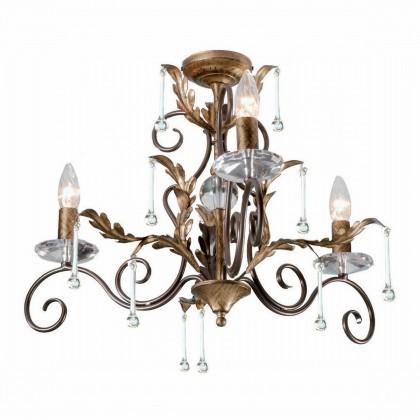 Amarilli Bronze And Gold - Elstead Lighting - lampa wisząca klasyczna - AML3 BRONZE - tanio - promocja - sklep