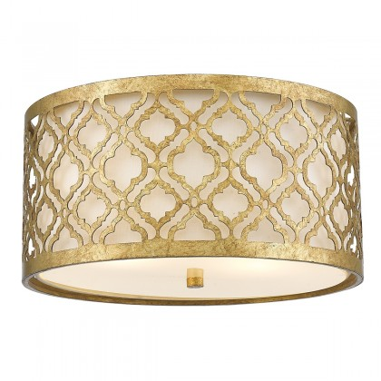 Arabella Distressed Gold - Elstead Lighting - lampa sufitowa klasyczna - GN/ARABELLA/F - tanio - promocja - sklep