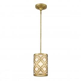Arabella Distressed Gold - Elstead Lighting - lampa wisząca klasyczna