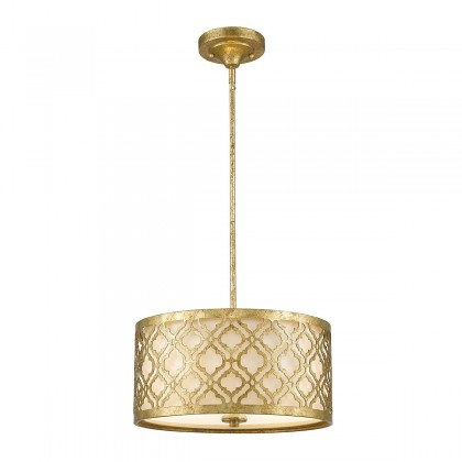 Arabella Distressed Gold - Elstead Lighting - lampa wisząca klasyczna - GN/ARABELLA/P/M - tanio - promocja - sklep