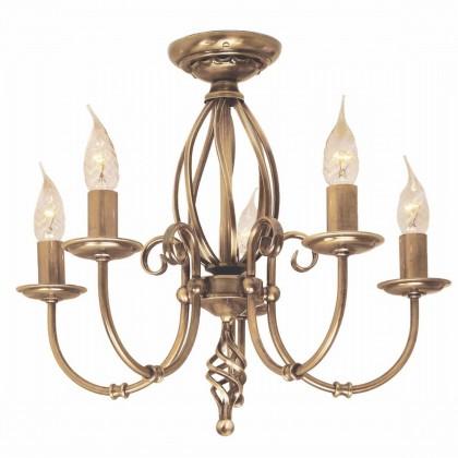 Artisan Aged Brass - Elstead Lighting - lampa wisząca klasyczna - ART5 AGD BRASS - tanio - promocja - sklep