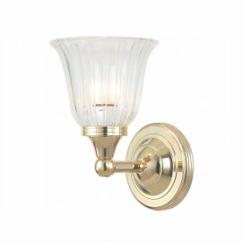 Austen Polished Brass - Elstead Lighting - kinkiet łazienkowy