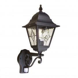 Norfolk Black - Elstead Lighting - kinkiet ogrodowy