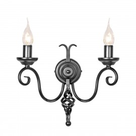Harlech Black - Elstead Lighting - kinkiet klasyczny