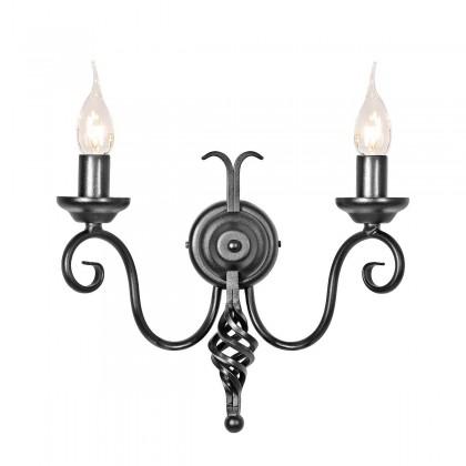 Harlech Black - Elstead Lighting - kinkiet klasyczny - HR2/A BLACK - tanio - promocja - sklep