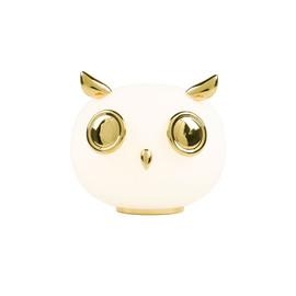 Pet Lights - Uhuh (Chouette) H21 biel, złoty - Moooi - lampa biurkowa