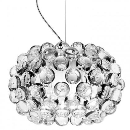 Caboche Ø31 przezroczysty - Foscarini - lampa wisząca - 138027 16 (138S002 16 + 138S072-R2) - tanio - promocja - sklep