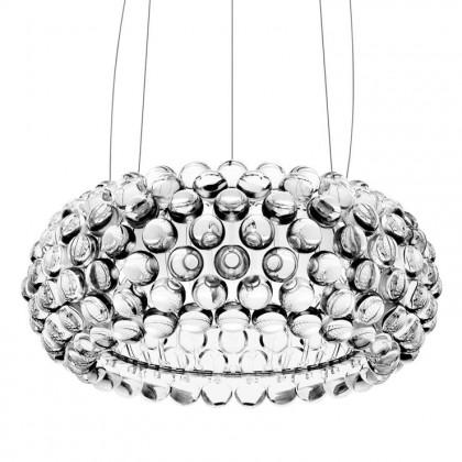 Caboche Ø50 przezroczysty - Foscarini - lampa wisząca - 138007 16 (138S00 16 + 138S07-R1/3) - tanio - promocja - sklep