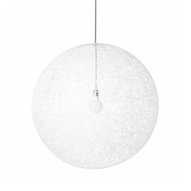 Random Ø80 biały - Moooi - lampa wisząca