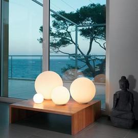 Dioscuri Ø42 biały - Artemide - lampa biurkowa
