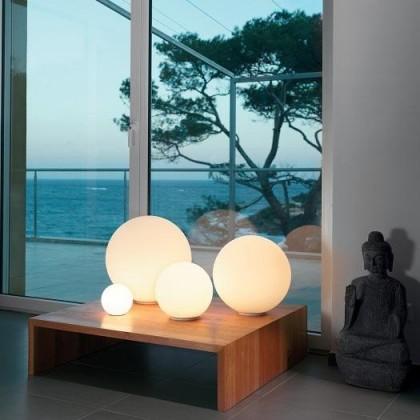 Dioscuri Ø42 biały - Artemide - lampa biurkowa - 0254010A - tanio - promocja - sklep