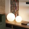 Globo In Ø50 biały - Slide - lampa biurkowa