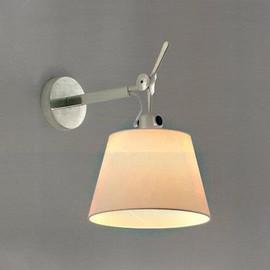 Tolomeo Ø18 polerowane aluminium - Artemide - lampa ścienna