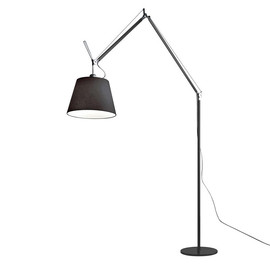 Tolomeo Mega Terra H330 czarny - Artemide - lampa podłogowa