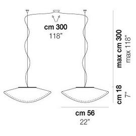 Balance SP G D2 - Vistosi - lampa wisząca