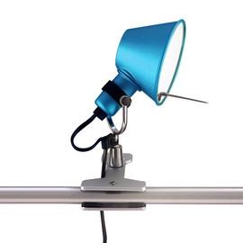 Tolomeo Micro H20 niebieski - Artemide - lampa biurkowa