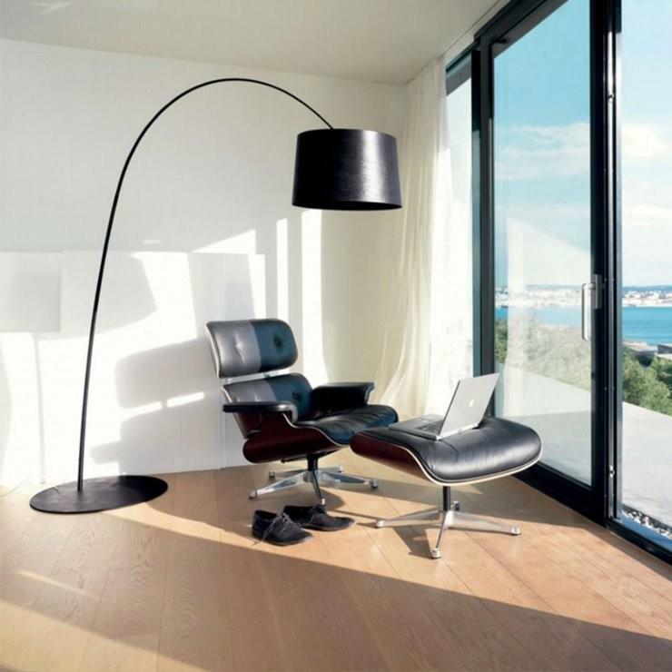 Nowoczesna lampa stojąca z serii Twiggy My Light H215 różowy - Foscarini - lampa podłogowa