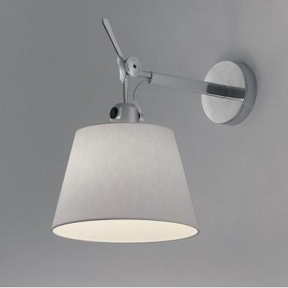 Tolomeo Ø32 szary - Artemide - lampa ścienna - 1186010A + 0781010A - tanio - promocja - sklep