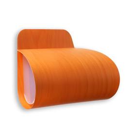 Pleg L26,5 pomarańczowy - Luzifer LZF - lampa ścienna
