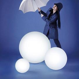 Globo In Ø120 biały - Slide - lampa biurkowa