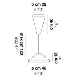 Withwhite SP 26 X - Vistosi - lampa wisząca