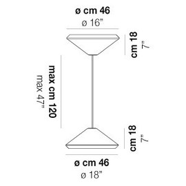 Withwhite SP 46 X - Vistosi - lampa wisząca