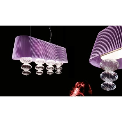 Musa SO OVAL 120 - Vintage - lampa wisząca