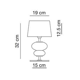 Musa CO - Vintage - lampa biurkowa
