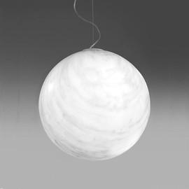 Mineral Ø40 biały marmur - Slide - lampa wisząca