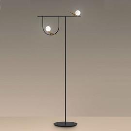 Yanzi H178 złoty, czarny - Artemide - lampa biurkowa
