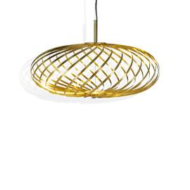 Spring Small Ø56-60 mosiądz - Tom Dixon - lampa wisząca