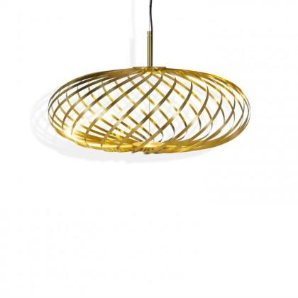 Spring Small Ø56-60 mosiądz - Tom Dixon - lampa wisząca - SPP01BEU - tanio - promocja - sklep
