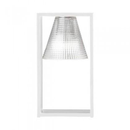 Light Air H32 przezroczysty - Kartell - lampa biurkowa - 9135B4 - tanio - promocja - sklep