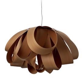 Agatha Ø140 drewno wiśniowe - Luzifer LZF - lampa wisząca