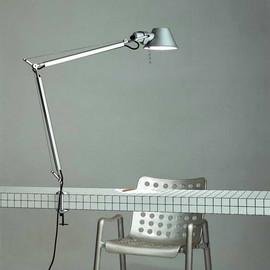 Tolomeo H64,5 aluminium - Artemide - lampa biurkowa