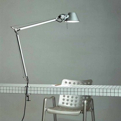 Tolomeo H64,5 aluminium - Artemide - lampa biurkowa - A004800 + A004100 - tanio - promocja - sklep