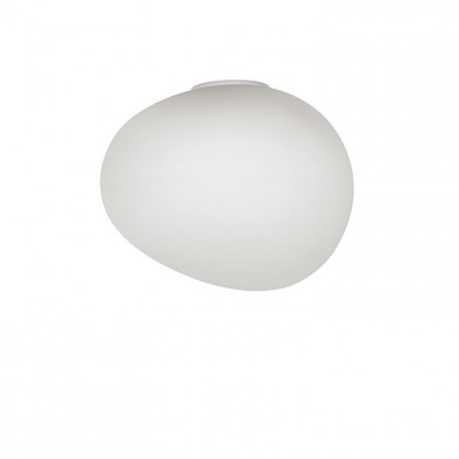 Gregg Grande Semi 2 H39 biały - Foscarini - lampa ścienna - 16801512-10 - tanio - promocja - sklep