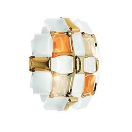 Mida H32 bursztyn - Slamp - lampa ścienna