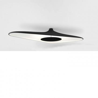 Soleil Noir L120 czarny, biały - Luceplan - lampa sufitowa - 1D890P000035 - tanio - promocja - sklep