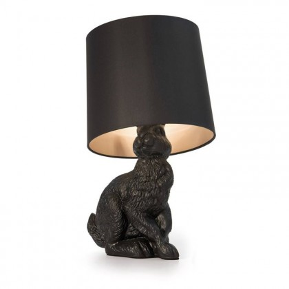 Rabbit Lamp H54 czarny - Moooi - lampa biurkowa - MO-PALI312900 + MO-PALI312002 - tanio - promocja - sklep