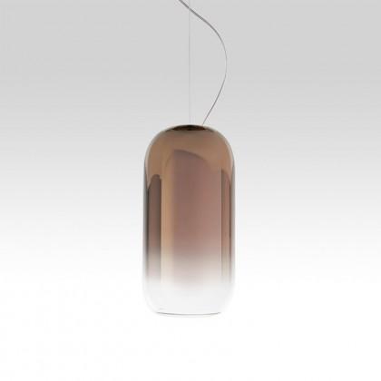 Gople Mini Ø14.5 brąz - Artemide - lampa wisząca - 1406060A - tanio - promocja - sklep