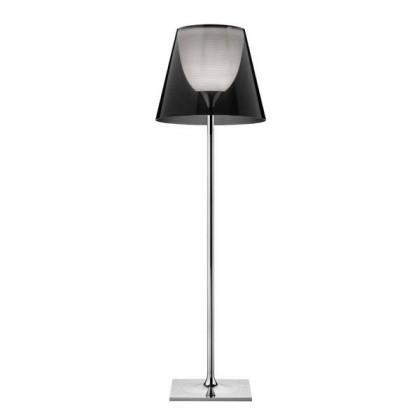 Ktribe F3 H183 chrom, dymiony - Flos - lampa podłogowa - F6301030 - tanio - promocja - sklep